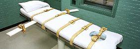 Angst vor qualvoller Hinrichtung: US-Todeskandidaten klagen