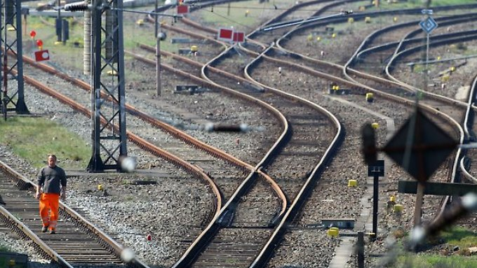 In Sachen Infrastruktur gibt es bei der Bahn viel zu tun.