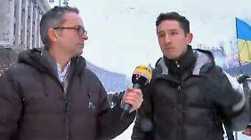 """n-tv Reporter Emmerich in Kiew: """"Wir müssen Verantwortung für unser Land übernehmen"""""""