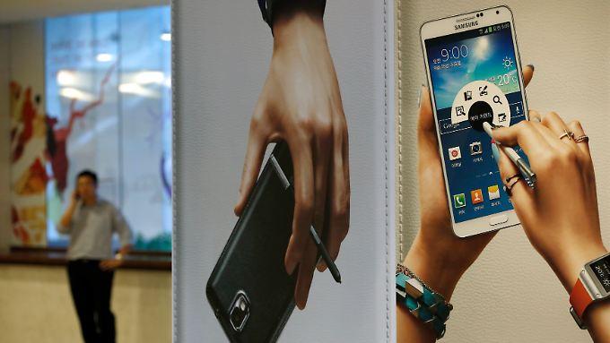 In der Smartphone-Sparte läuft es nicht mehr ganz so rund.