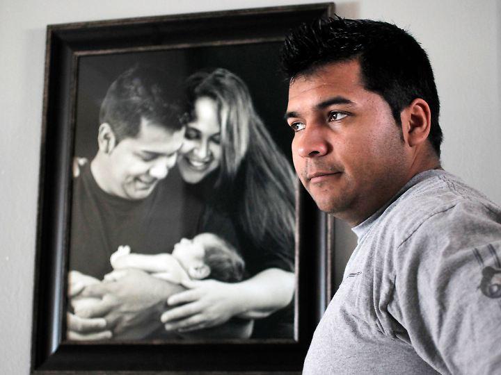 Erick Muñoz setzte sich vor Gericht durch. Er berief sich auf den Willen seiner Frau.