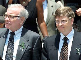 Warren Buffet und Bill Gates gehören zu den reichsten der Reichen der Welt. Und sie wollen ihren Reichtum teilen.