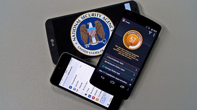 Wer bei Apps auf die Berechtigungen achtet, macht es der NSA und anderen Schnüfflern etwas schwerer, Daten abzugreifen.