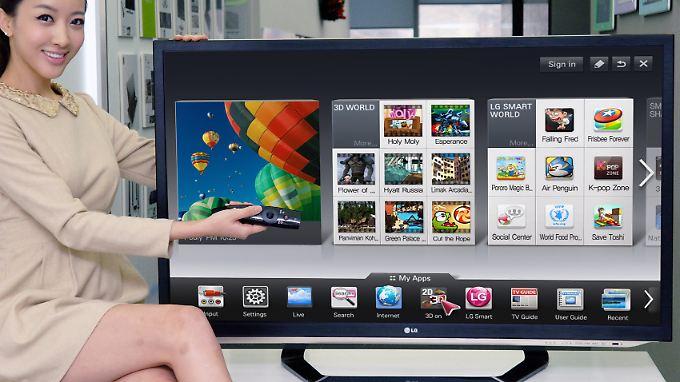 Internet-Funktionen sind bei Fernsehern inzwischen Standard.