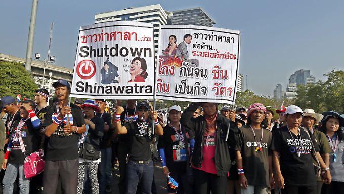 Regierungsgegner boykottierten die Wahl.