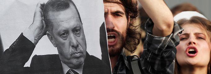 """Proteste in Istanbul: """"Die Finanz- und Geldpolitik der Türkei setzen das Land einer möglichen harten Landung aus."""" (Archivbild)"""