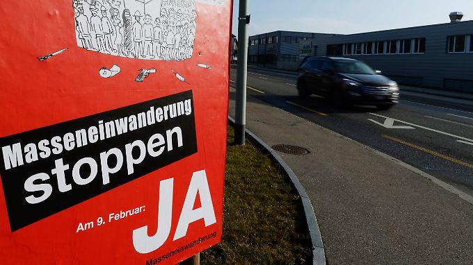 Die Schweiz musste sich zwischen Ja und Nein entscheiden. Die europäische Politik kann einen mittleren Weg wählen.