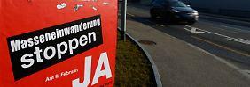 Nach dem Volksentscheid in der Schweiz: Schluss mit der EU-Euphorie