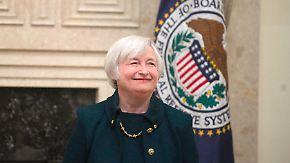 Neue Fed-Chefin vor US-Kongress: Yellen-Antrittsrede wird mit Spannung erwartet