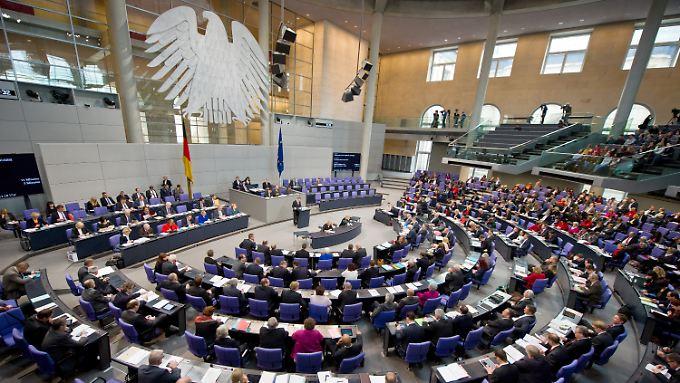 Einigkeit in der Großen Koalition: Abgeordneten-Diäten sollen auf mehr als 9000 Euro steigen