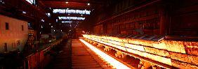 Der lange Marsch aus der Krise: Stahlbranche warnt Politik