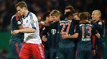 """""""Scheißegal""""-Spiel im DFB-Pokal: HSV lässt Bayern-Prügel über sich ergehen"""