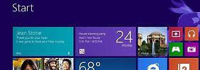 Windows 8 war Ende Oktober 2012 auf den Markt gekommen. Foto: Microsoft