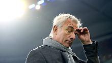 Bert van Marwijk ist nur eine kurze Amtszeit beim HSV beschieden.