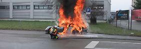 """Wenn Autos in Flammen aufgehen: """"Autoindustrie näht immer stärker auf Kante"""""""
