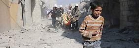 Städte wie Aleppo werden ständig attackiert.