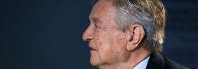 """Erinnert an 2008"": Soros sieht neue Finanzkrise kommen"