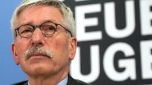 """""""Wollen wir Millionen Migranten?"""": Sarrazin prophezeit Zerbrechen der EU"""