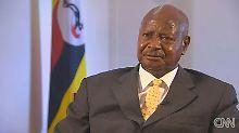 Museveni: Wir haben noch nie Homosexuelle unterstützt.