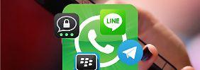 Stiftung Warentest prüft Datenschutz: WhatsApp-Alternativen im Test