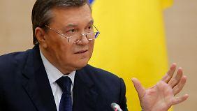 """""""Niemand hat mich abgesetzt"""": Janukowitsch will um seine Macht kämpfen"""