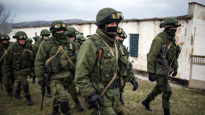 Die Militärintervention auf der Krim schadet der russischen Wirtschaft empfindlich.