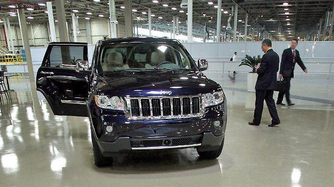 Jeep verzeichnet Absatzsprung.