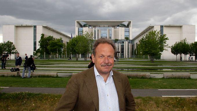Rauer Ton: Verdi-Chef Frank Bsirske fordert sieben Prozent für den öffentlichen Dienst.