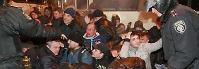 Pro-russische Stimmung vor Krim-Referendum: EU-Anhänger in Donezk erstochen