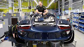 Premiumhersteller auf Erfolgskurs: Porsche legt kräftig zu
