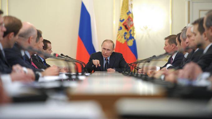 Wladimir Putin will der große Mann Russlands sein. Dabei könnte er es sein, der für den weiteren Zerfall des Reiches verantwortlich zeichnet.