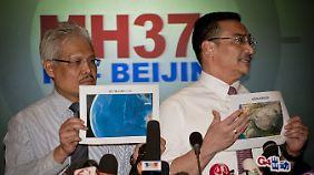 Flugzeug doch ins Meer gestürzt?: Malaysia ermittelt wegen des Verdachts der Entführung