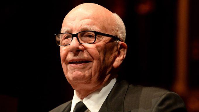 Hat Appetit: Rupert Murdoch.
