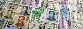 Yuan, Pfund, Dollar, Euro: Im Memory der Währungspaare verschiebt sich das Gleichgewicht.