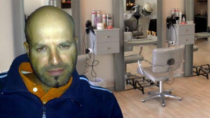 Seit drei Jahren versucht Spyros Priftis seinen Frisörladen zu eröffnen. Doch die griechische Bürokratie verbietet es ihm.