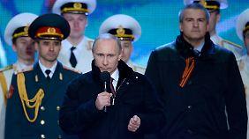 Ukrainer fürchten weitere Abspaltungen: Sanktionen lassen Putin kalt