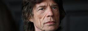Nach Tod seiner Freundin: Jagger sucht Trost bei seinen Kindern