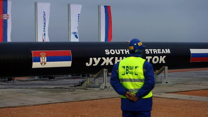 Die South-Stream-Pipeline soll über den Grund des Schwarzen Meeres russisches Gas nach Europa bringen.