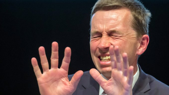 """""""Scharmützel verloren"""": Bernd Lucke."""