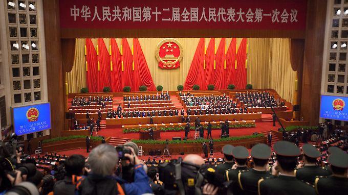 Der Volkskongress beschäftigte sich jüngst mit dem Umbau der chinesischen Wirtschaft.
