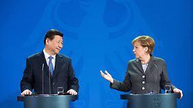 Heikle Themen: Chinas neuer Staatschef Xi besucht Deutschland