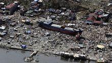 Der Taifun Hayan hinterließ im vergangenen Jahr auf den Phillippinen Tod und Verwüstung.