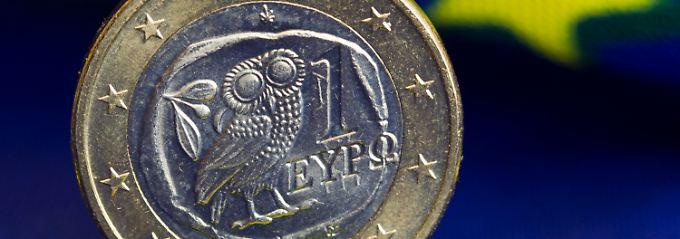 Griechische Ein-Euro-Münze: Griechenland soll offenbar 11,8 Milliarden davon bekommen.