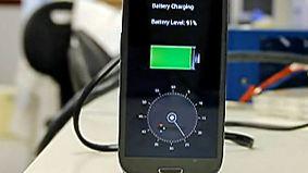 Ladegerät-Revolution aus Israel: Neue Technologie lädt Handy-Akku in 30 Sekunden