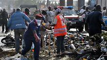 Dutzende Tote bei zwei Explosionen: Schwerer Anschlag in Nigerias Hauptstadt
