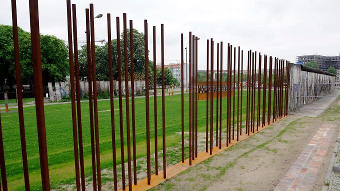 Kaum noch Spuren in der Hauptstadt: Wo stand die Berliner Mauer?