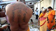 "Buddha-Tattoo: Sri Lanka bestraft ""Respektlosigkeit"""
