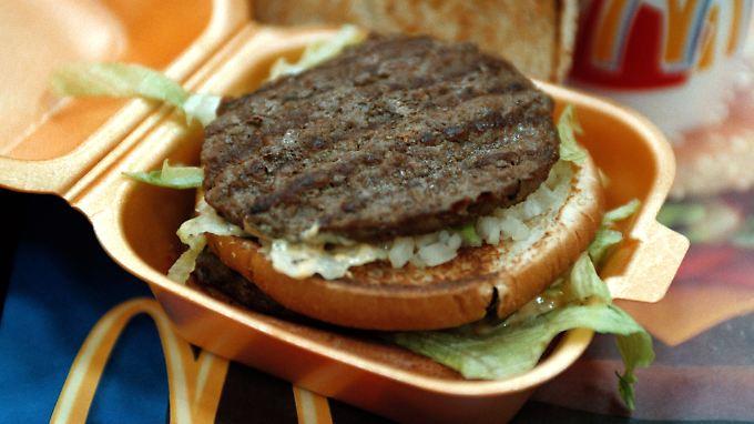 Ein Big Mac: Groß, wie der Name schon sagt.