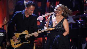 Bruce Springsteen kann sich auf Darlene verlassen.