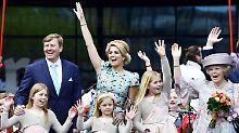 Oranje-Jubelfest zum Königstag: Niederlande feiern ihren König